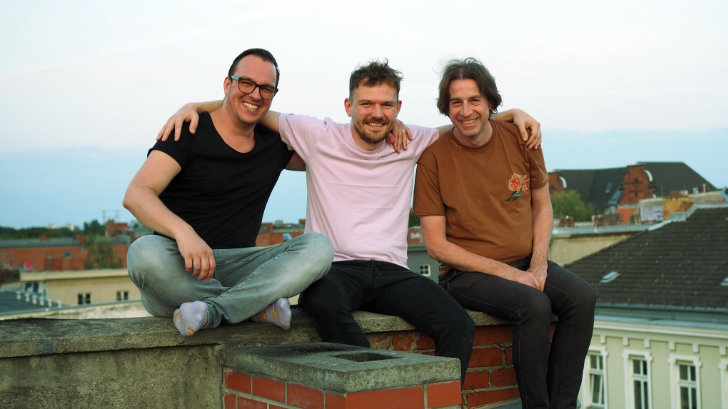The three founders of ThankU: Martin Belza (left), Lukasz Belza (middle), Dr. Carsten Meyer (right)